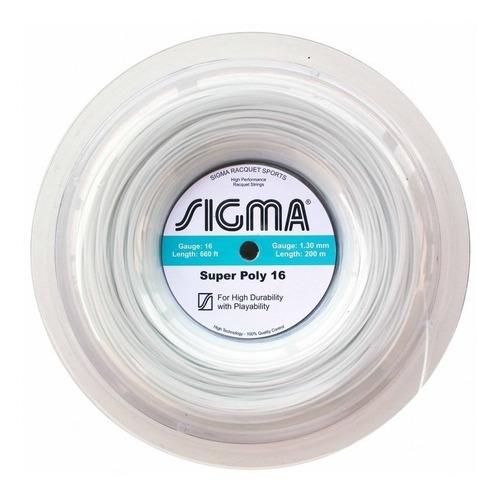 Rolo De Corda Sigma Super Poly 16 / 1.30 (200 Metros)