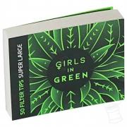 Piteira Extra Large Girls in Green & Bem Bolado