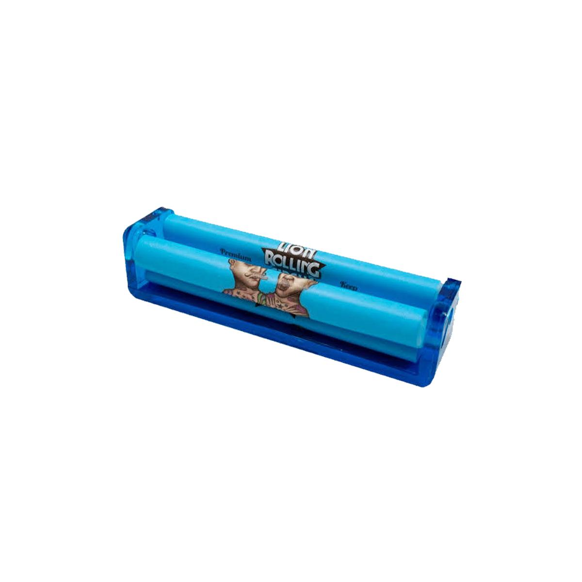 Bolador Automático Lion Rolling Circus King Size Azul