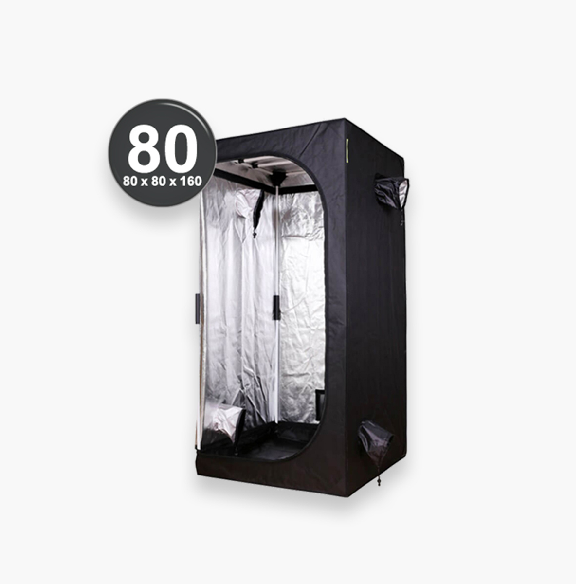 Estufa Pro Box Basic Pro 80 - 80x80x160 cm