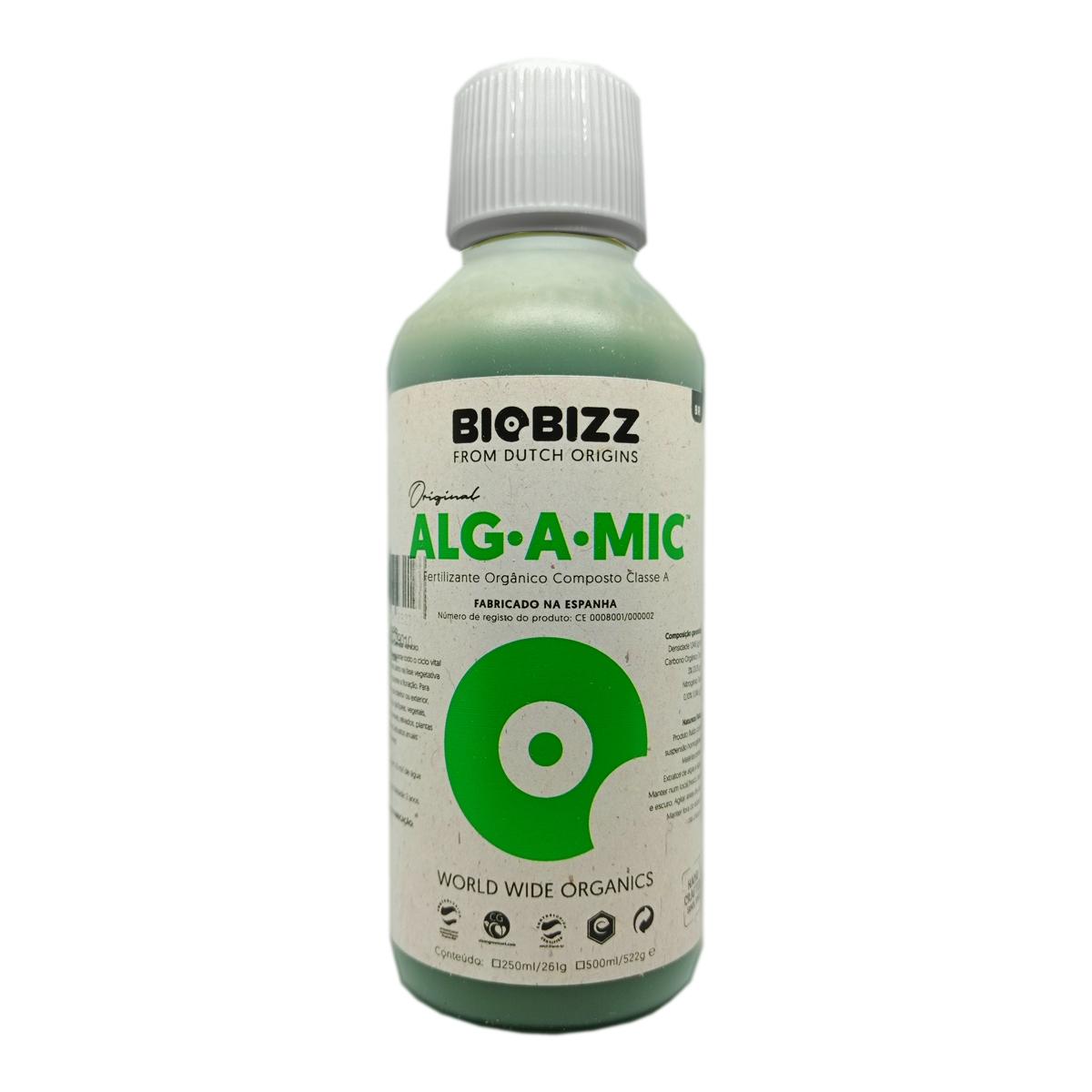 Fertilizante Biobizz Alg a Mic 250ml