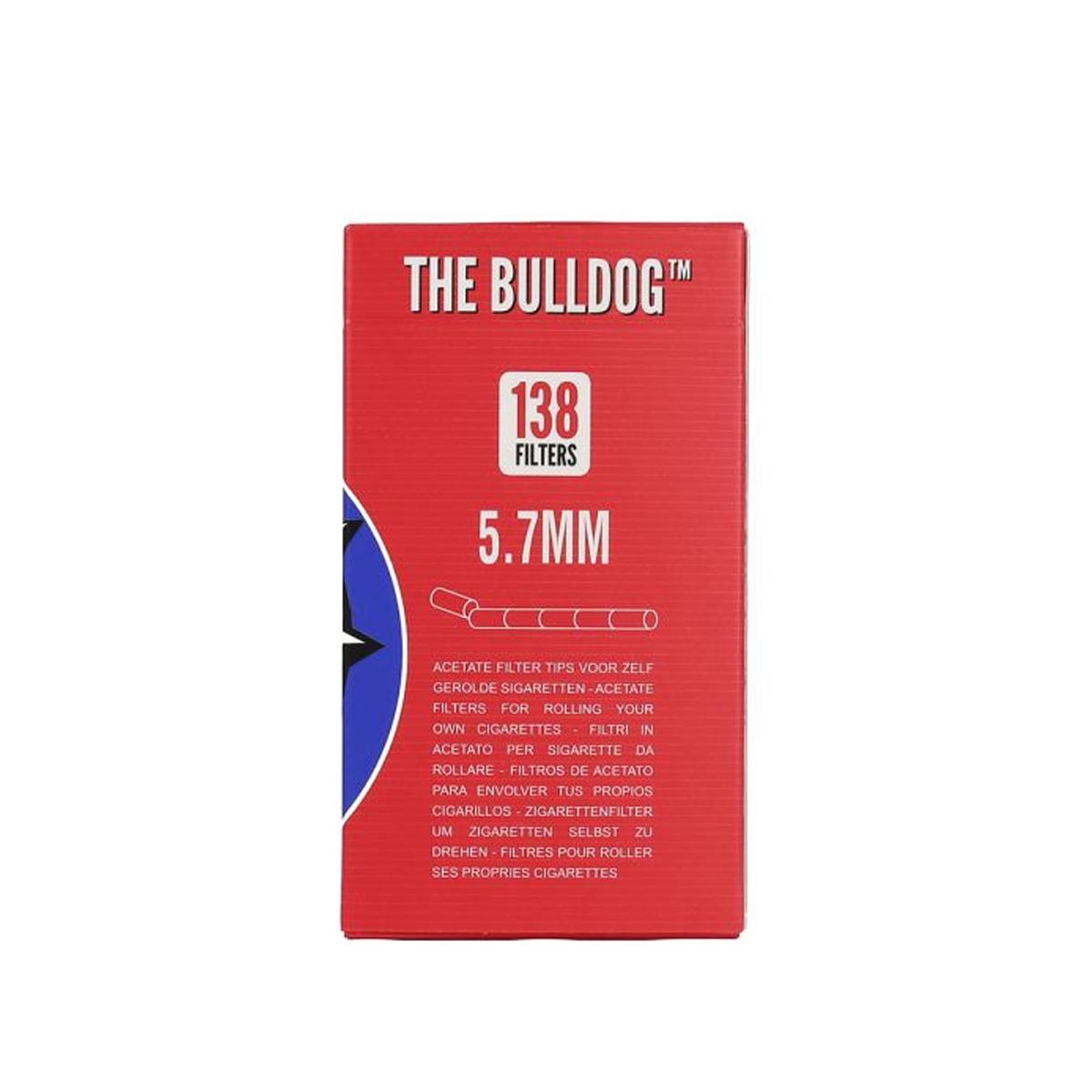 Filtro RED Bulldog Box de 5,7mm com 138 unidades