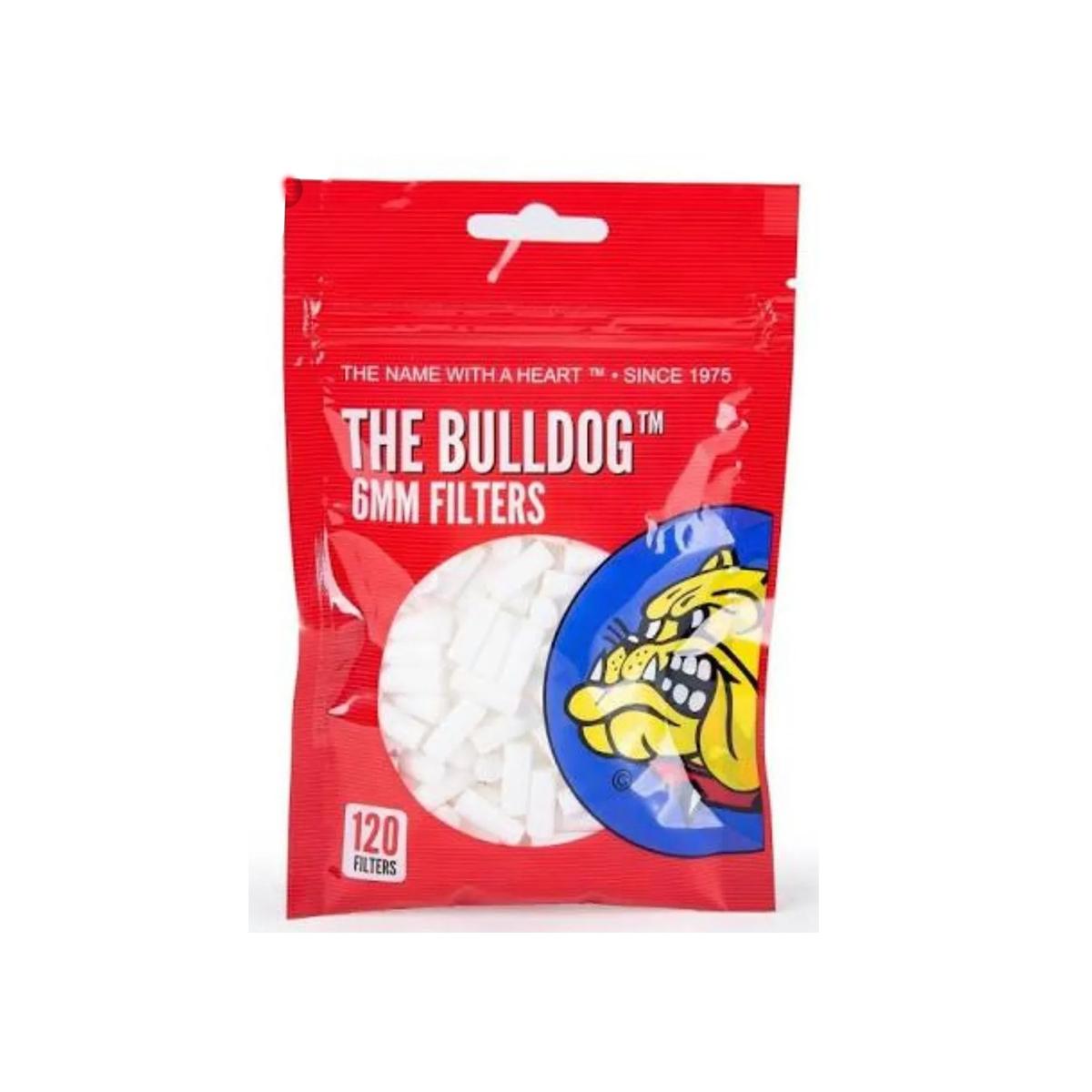 Filtro RED Bulldog Bag de 6mm com 120 unidades