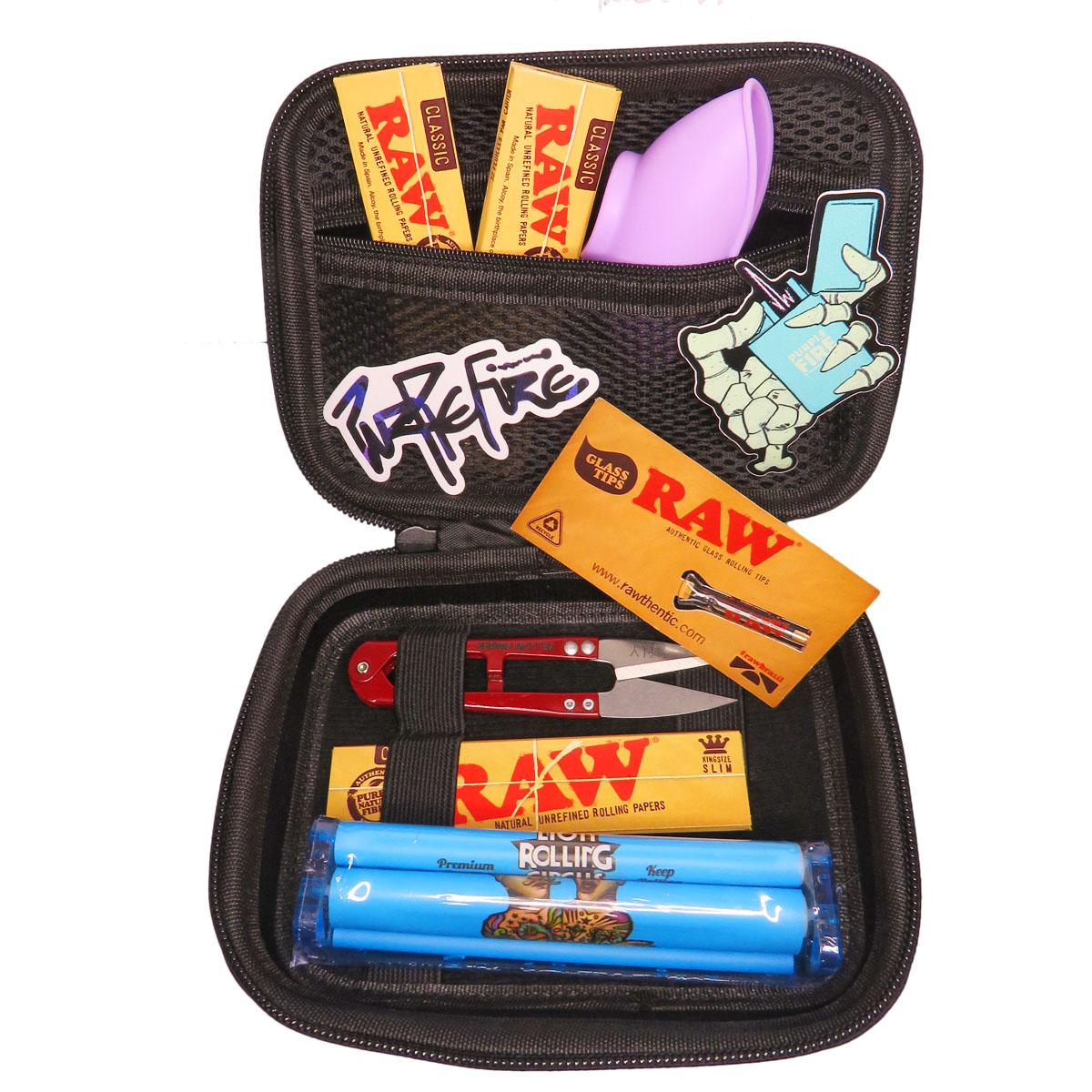 Kit Purple Fire x Raw Exclusive Preta