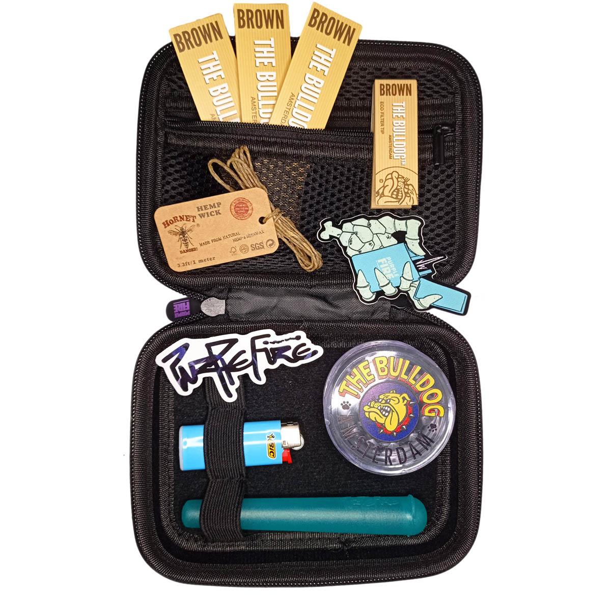 Kit Purple Fire x The Bulldog Amsterdam Premium Roxo