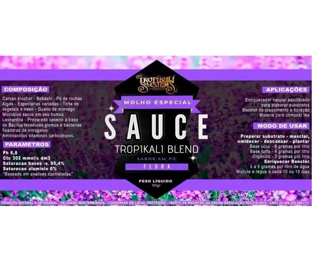 Pack Tropikali Sauce para Flora e Vega 50g Cada
