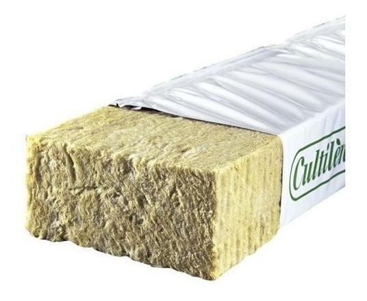 Lã De Rocha Rockwool Slab 100 X 15 X 7,5cm