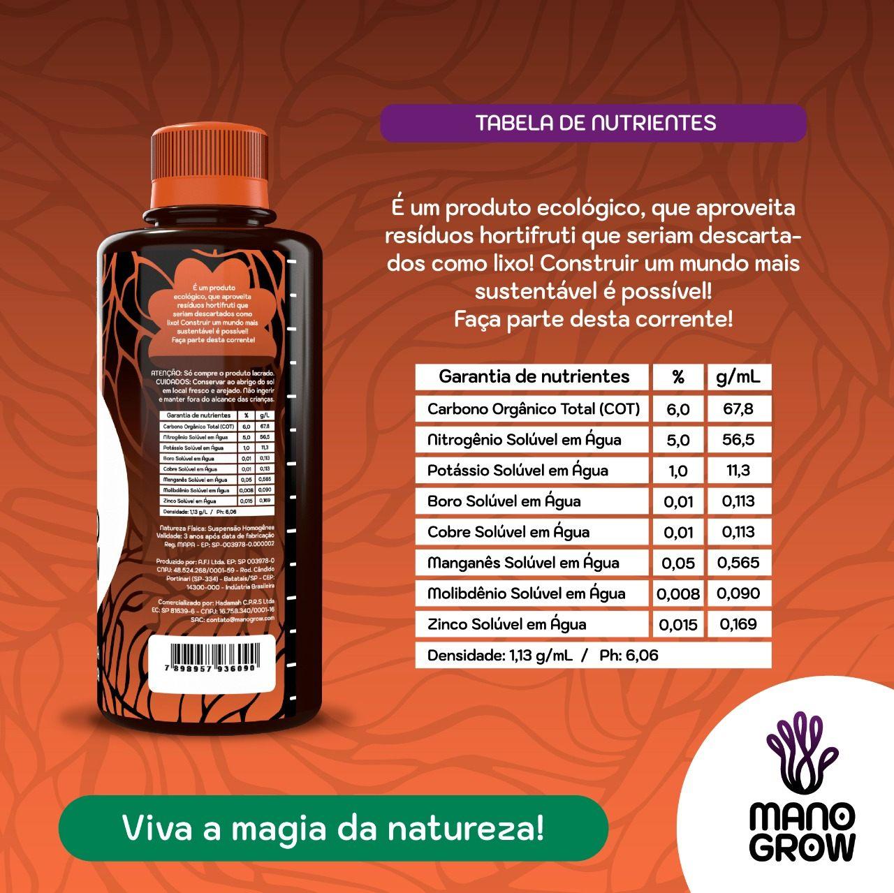 Mano Grow Micros 300ml