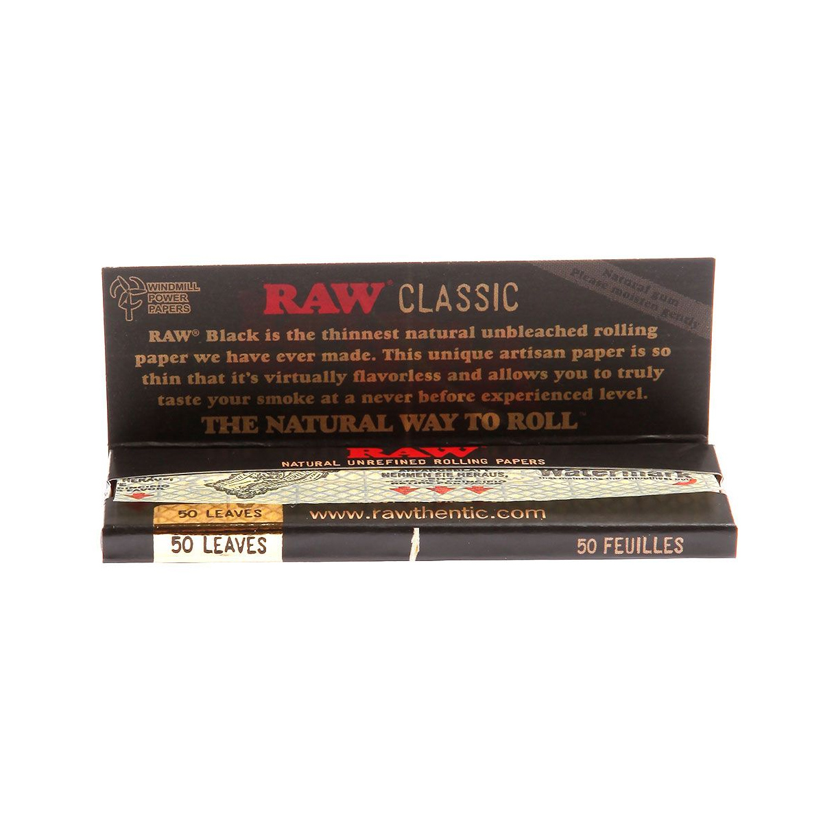 Seda Raw Classic Black 1.1/4