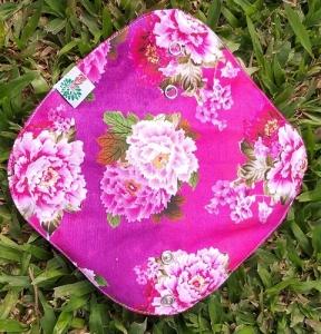 Absorvente Feminino Diurno Flores Rosa