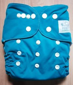 Azul cinzento - Afeto - Acompanha absorvente de meltom 6 camadas