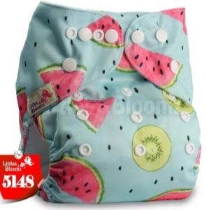 Fralda Frutinhas em Pull - Little e Bloomz