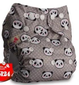 Fralda Pandas em Pull - Little e Bloomz