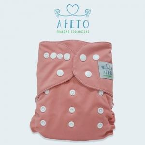 Rosa Nude- Afeto - Acompanha absorvente de meltom 6 camadas