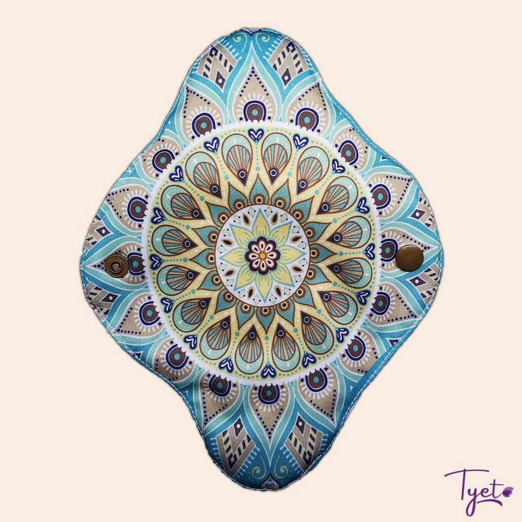 Absorvente Feminino Diurno Mandala Azul