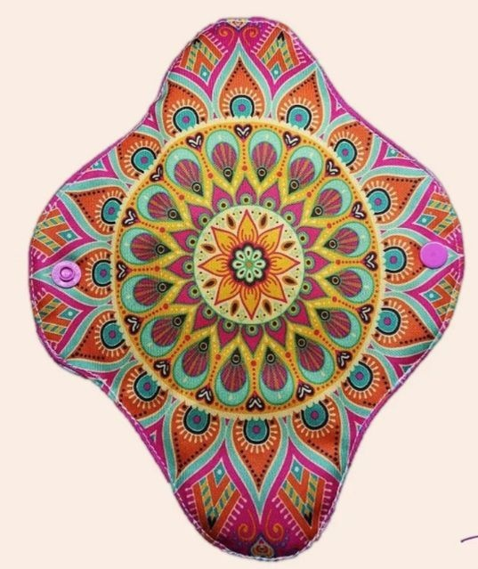 Absorvente Feminino Diurno Mandala Estrela