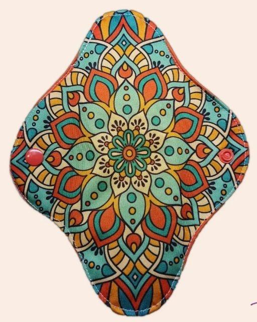 Absorvente Feminino Diurno Mandala Flor