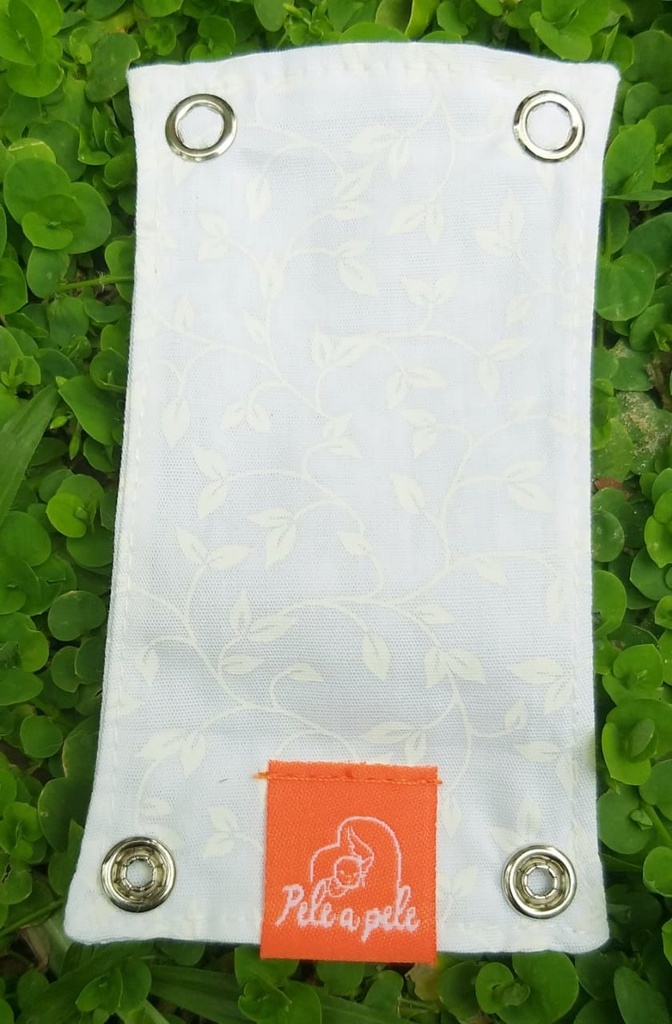 Extensor de Body - Branco Floral