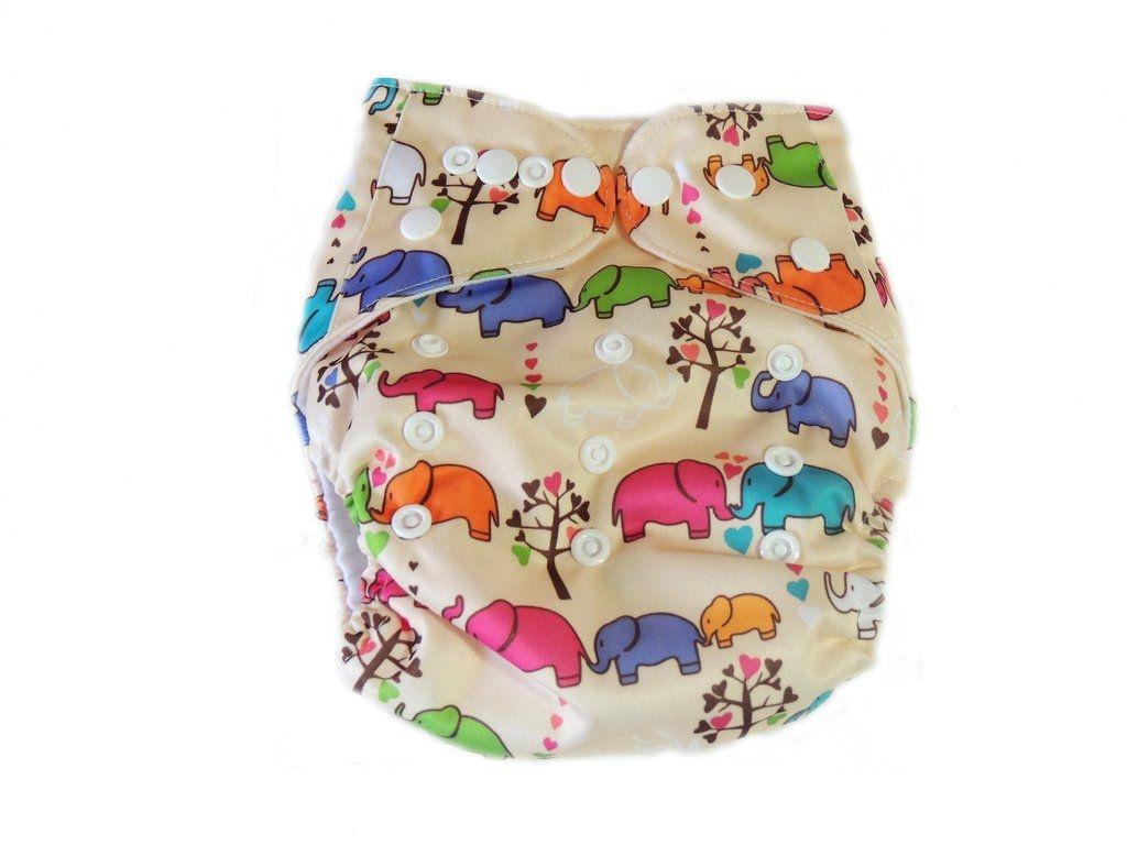 Fralda Elefantinhos em Pull - Little e Bloomz