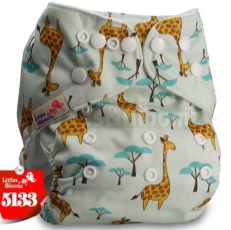 Fralda Girafinhas em Pull - Little e Bloomz