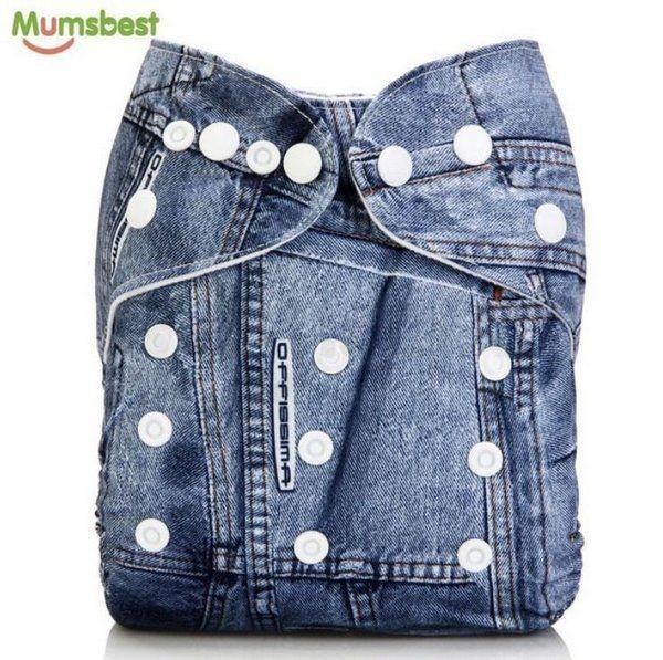 Fralda Jeans em Pull - Little e Bloomz