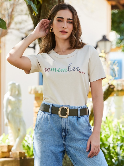 BLUSA SUEDE REMEMBER