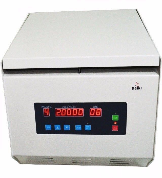 CENTRÍFUGA MICROPROCESSADA DIGITAL MULTI-ROTORES VELOCIDADE 20000RPM DT-20000-BI - DAIKI