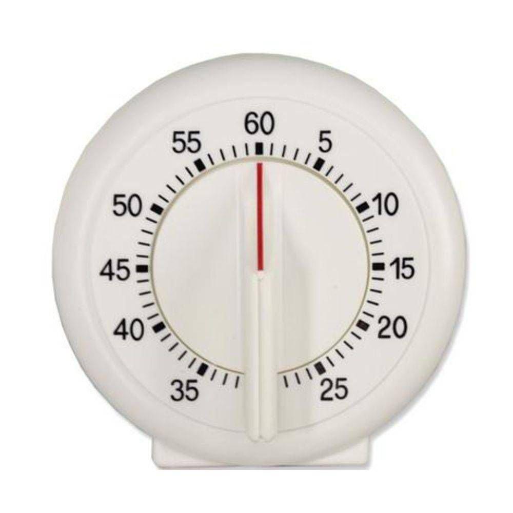 CONTADOR DE TEMPO (TIMER) DE PLÁSTICO DE ATÉ 60 MINUTOS COM SINALIZAÇÃO ACÚSTICA AO FINAL DO TEMPO PROGRAMADO