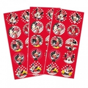 Adesivo Decorativo Minnie c/3 Cartelas - Regina