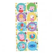Adesivo Decorativo Peppa Pig c/3 Cartelas - Regina
