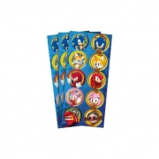 Adesivo Decorativo Sonic c/3 Cartelas - Regina