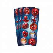 Adesivo Decorativo Spider Man c/3 Cartelas - Regina