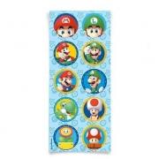 Adesivo Decorativo Super Mario c/30 - Cromus