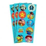 Adesivo Decorativo Toy Story c/3 Cartelas - Regina