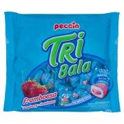 Bala Tribala Recheada Framboesa 500g - Peccin