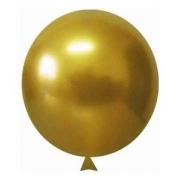 Balão Alumínio Nº5 Amarelo Mostarda c/25 - Happy Day