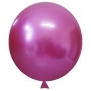 Balão Alumínio Nº5 Fucsia c/25 - Happy Day