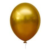 Balão Alumínio Nº9 Amarelo Mostarda c/25 - Happy Day