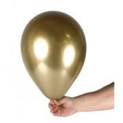 Balão Alumínio Nº9 Dourado c/25 - Happy Day