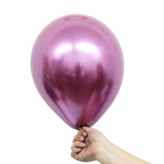 Balão Alumínio Nº9 Fucsia c/25 - Happy Day