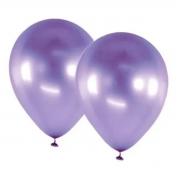 Balão Alumínio Nº9 Lilás c/25 - Happy Day