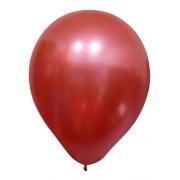 Balão Alumínio Nº9 Vermelho c/25 - Happy Day