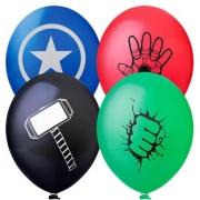 Balão Nº11 Happy Vingadores Sortido c/25 - Happy Day