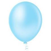 Balão Nº5 Azul Claro c/50 - Happy Day