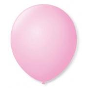 Balão Nº5 Rosa Bebê c/50 - Happy Day