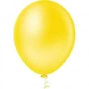 Balão Nº8 Amarelo c/30 - Happy Day