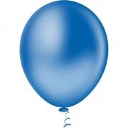 Balão Nº8 Azul c/30 - Happy Day