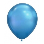 Balão Nº8 Azul Celeste c/30 - Happy Day