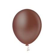 Balão Nº8 Marrom c/50 - Happy Day