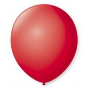 Balão Nº8 Vermelho c/50 - Happy Day